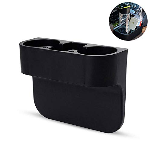 (MOGOI Car Seat Organizer, 3 In1 Car Cup Holder Multi-fuctional Universal Car Storage Box Console Side Pocket Cup Holder Car Seat Gap Filler, Cell Phone Holder, Food Drink Bottle Mount Stand.)