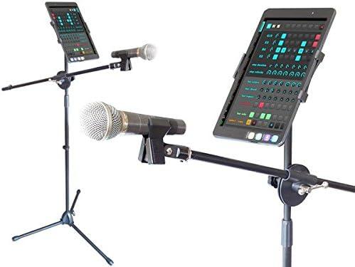 Soporte móvil y micrófono para Universal Smartphones Móvil Tableta ...