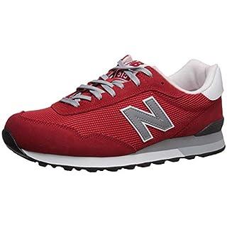 New Balance Men's 515 V1 Sneaker, Team red/Silver Mink, 17 4E US