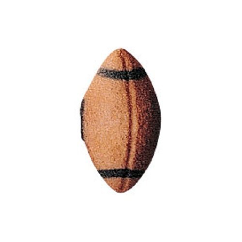 Lucks Dec-Ons Decorations Molded Sugar/Cup-Cake Topper, Football, 1.125 Inch, 264 Count by Lucks