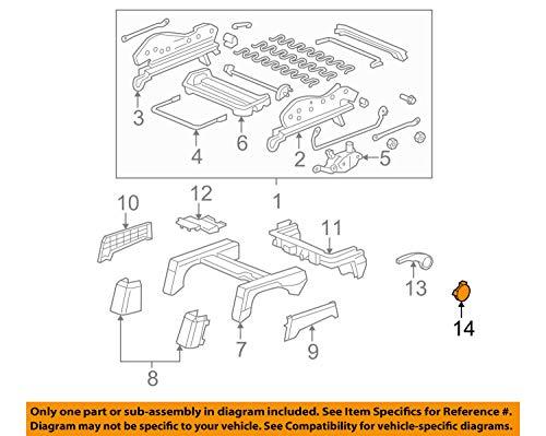 (Genuine Honda 81622-SNA-A01ZJ Left Height Adjuster Handle Cap )