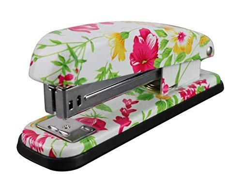 VIBRANCELAB Cute Decorative Heavy Duty Full Desktop Office Hand Stapler Set Standard Pretty Accessory Commercial Business Office Study Non Acrylic Compact Mini Accessories b007n0as3o b012niqh62 (Decorative Stapler)