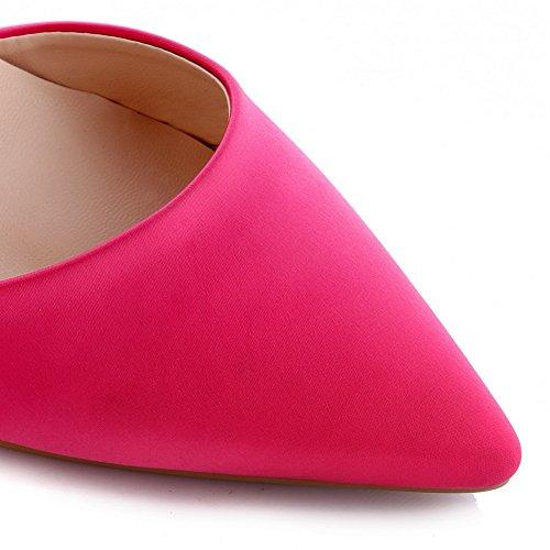 Unica Rosered Vuoti Ribattino Cuoio Pompe Imitato Balamasa Costellato Bambine Piattaforma calzature UnaaqxA