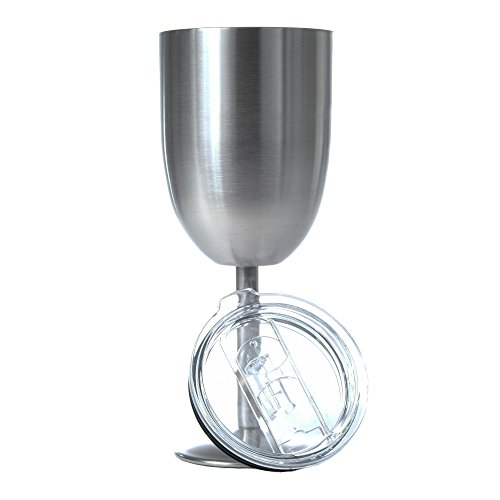 Greatness Line Tumbler (Stainless Steel, 10 oz Wine)