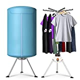 Costway Portable Ventless Laundry Clothes Dryer Heater 900W...