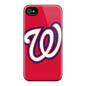 Hot COfrt16013CdcfQ Baseball Washington Nationals Tpu Case Cover Compatible With Iphone 4/4s