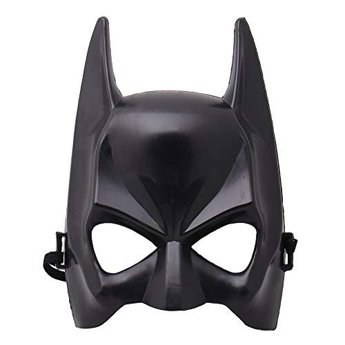 PKRISD HOT Halloween Half Face Batman Mask Black Masquerade Dressing Party Masks Cosplay Mask Costume Party Festival Supplies 2019
