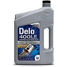 Delo (271210339-3PK) 400 LE 5W-30 Synthetic Motor Oil - 1 Gallon, (Pack of 3)