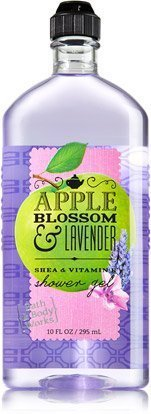 Bath & Body Works Apple Blossom & Lavender Shower Gel 10 Oz.