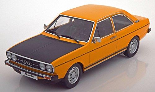 Audi 80 GT/E Orange mit schwarz, 1:18 KK Scale