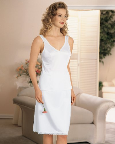 Velrose Comfort Strap Camisole, White, (Comfort Camisole)