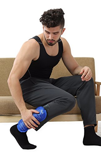 Gel Ice Cold Compress – (2 Pack) – Reusable comfortable soft touch vinyl provides instant pain relief, rehabilitation and therapy from injuries like shoulder, upper/lower back, knee, neck, ankle by Thrive (Image #8)