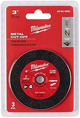 MILWAUKEE 9in X 3//32in Metal Cut-Off X 7//8in