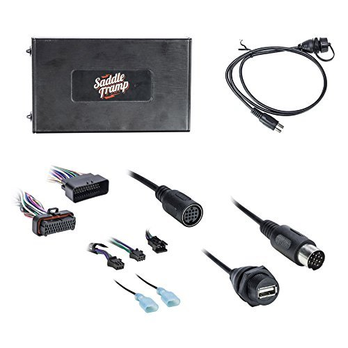 Metra BT-HD01 Bluetooth Audio Interface for Select 2006-13 Harley Davidson Radio ()