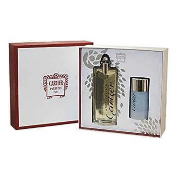 Declaration By Cartier For Men. Gift Set Eau De Toilette Spray 3.4 Oz Deodorant Stick 2.5 Oz .