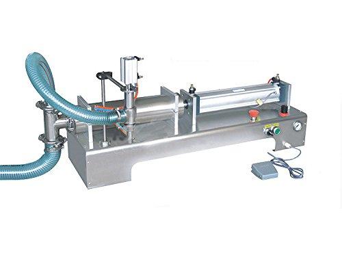 Pneumatic Liquid Filling Machine 100ml-1000ml Volume, Lolicute Semi-Automatic Liquid Filler Single Nozzles for Shampoo, Oil, Water, Perfume 110V by Lolicute (Image #4)