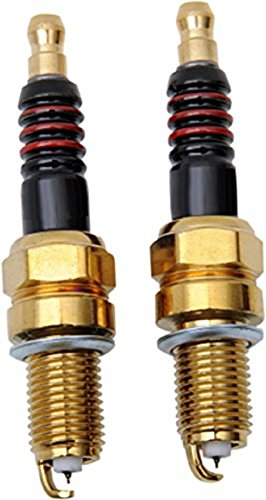 - Iridium Performance Spark Plugs Pair for Harley Softail Slim Twin Cam repl. Harley# 6R12