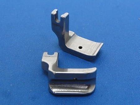 Máquina de coser industrial Tubería Pie lado derecho 0,9 cm APTO ...