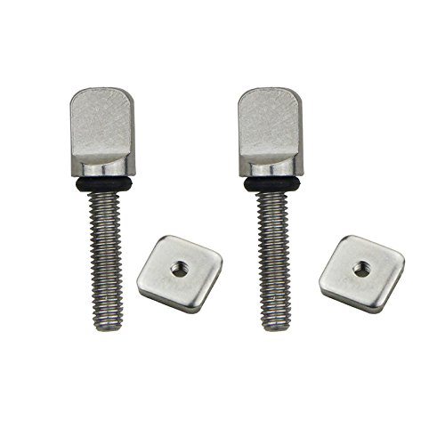 DORSAL® Stainless Surf Thumb Fin Screw and Plate Surfboard Longboard Bag of 5/Universal: Amazon.es: Deportes y aire libre