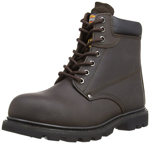 Dickies Cleveland, Scarpe Di Sicurezza Per Adulto Unisex Marrone Scuro
