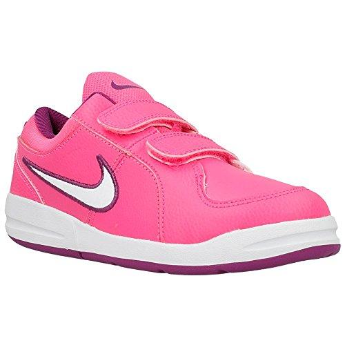 Nike Pico 4 (PSV), Zapatillas de Tenis Para Niñas Rosa (Pink Pow/White/Bold Berry 606)
