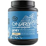 Gnarly Nutrition Whey Sports Protein || All Natural New Zealand Grass Fed Whey Protein (Vicious Vanilla)