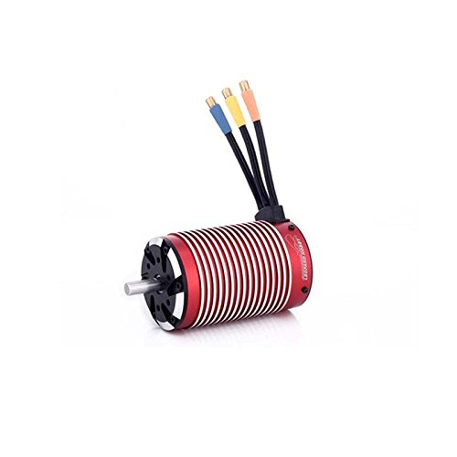 Leopard Brushless Motor (Leopard 5882 4-Pole Brushless Inrunner Motor, 1360KV For 1/5 RC Car, Truck)
