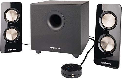 AmazonBasics 2.1 25W Computer Speakers with Subwoofer
