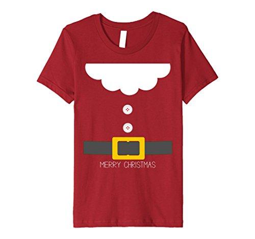 6 Group Halloween Costume Ideas (Kids Santa Dwarf Halloween Christmas Group Costume Idea T-Shirt 6 Cranberry)
