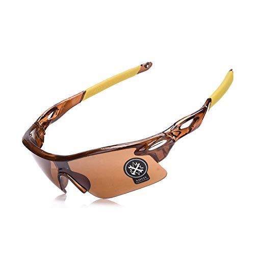 Men Women Cycling Glasses Outdoor Sport Mountain Bike MTB Bicycle Glasses Motorcycle Sunglasses,C02 Tea