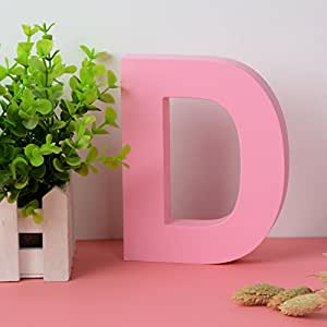 amazon com decorative wood letters d hanging wall 26 letters wooden