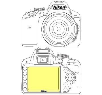 Martin Fields Overlay Plus Screen Protector (Nikon D3200)