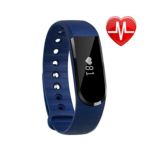 LETSCOM Fitness Tracker Watch, Bluetooth 4.0 Heart Rate M...