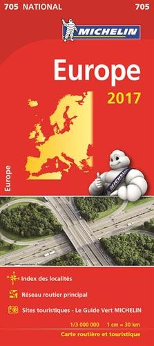 Download Carte Nationale 705 Europe 2017 [ National map ] (French Edition) PDF