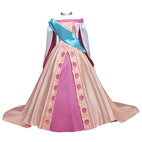 CosplayDiy Women's Beautiful Costume Dress for Princess Anastasia Cosplay XXL