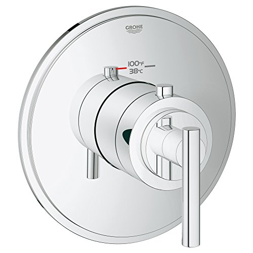 Grohflex Timeless Custom Shower Thermostatic Trim With Control Module GROHE