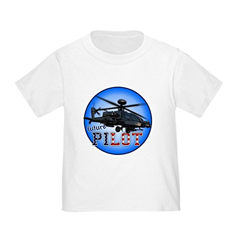 Pilot Helicopter Future - CafePress - future helicopter pilot Toddler T-Shirt - Cute Toddler T-Shirt, 100% Cotton