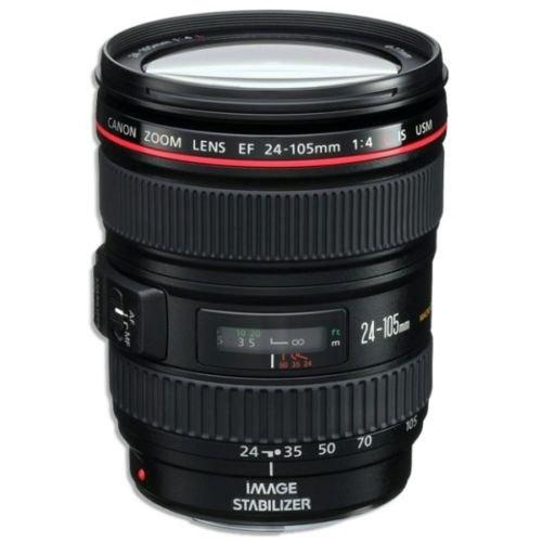 4 L IS USM Lens (white box) for Canon EOS Digital SLR Cameras T5, T5i, 5D Mark II / III, 6D, 60D, 7D Mark II, 70D, SL1, 600D, 650D, 700D, 1200D + UV filter + Microfiber cloth ()