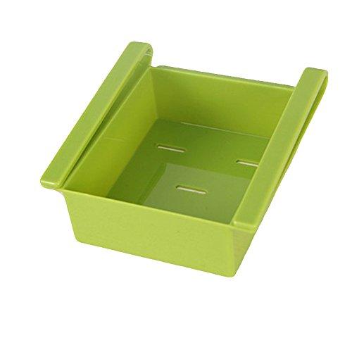 Kicode El plastico Bastidor de almacenamiento de nevera ...