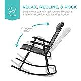 Best Choice Products Foldable Zero Gravity Rocking