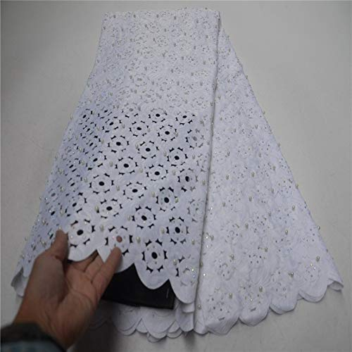 Lace - Cassiel Hand-Cut Best Selling Dresses for Clothing Embroidered French Lace Fabric African Lavender Fabric Austrian Lace - (Color: as picture10)