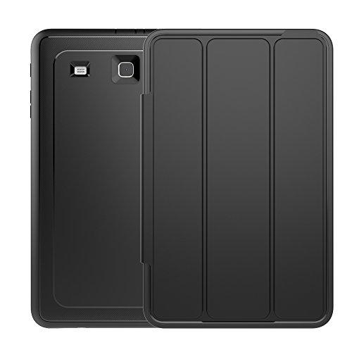 Samsung Galaxy Tab E 9.6 Case,Veggzy 3in1 Slim Heavy Duty Sh