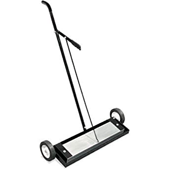 Magnetic Sweeper Heavy Duty Push-Type with Release, 24\