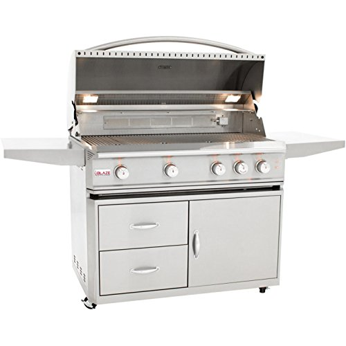 Blaze Professional 44 Inch Freestanding Natural Gas Grill