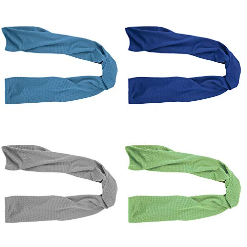 4 Packs Cooling Towel