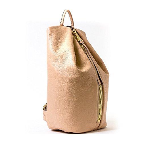 Aimee Kestenberg Tamitha Backpack Blush Leather Gold Hardware by Aimee Kestenberg (Image #7)