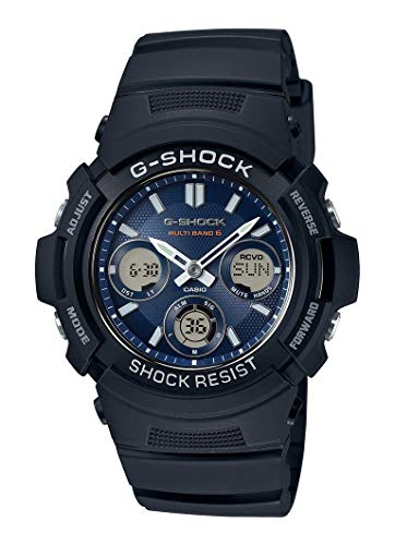 (Casio G-Shock Men's Watch AWG-M100SB-2AER)