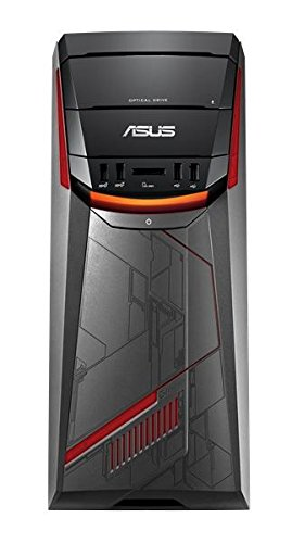 ASUS ROG G11DF-DE009T PC 3,2 GHz AMD Ryzen 5 1400 Negro, Gris, Rojo Torre - Ordenador de sobremesa (3,2 GHz, AMD Ryzen 5, 8 GB, 1128 GB, DVD Super Multi, Windows 10 Home)