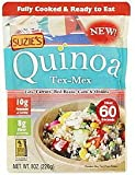 Suzie's Quinoa Ready-to-Eat & Fully Cooked Tex-Mex, 8 Ounce (Pack of 24)