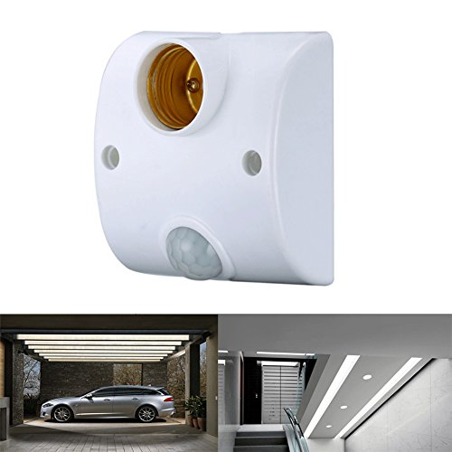 Outdoor Motion Activated Light Socket Adapter - 9